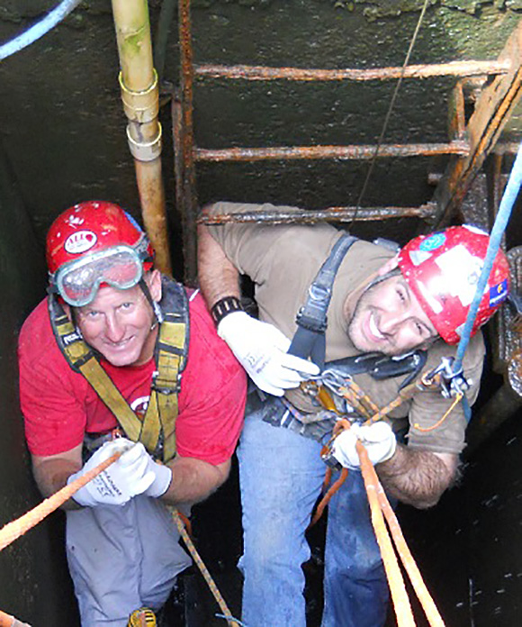 Industrial Access Rope Access Technicians